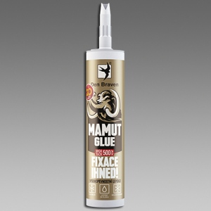 Den Braven Mamut Glue High Tack šedý 290ml lepidlo