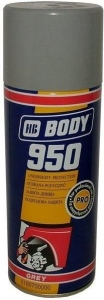 Body 950 šedý 400ml sprej